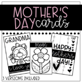 Blank Mother's Day Cards
