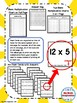 Blank Multiplication Chart and Multiplication Fact Flash Cards