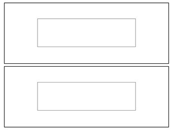 Blank Nametag Label Template