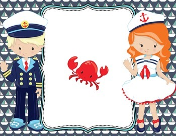 Editable Nautical Posters