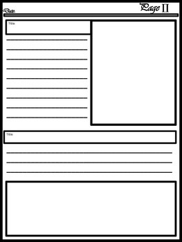Blank Newspaper Template For Multi Uses 1171423 on Lesson Plans Free Printables