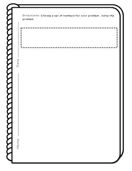Blank Notebook Pages