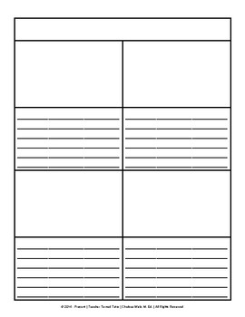 Blank Notebooking/Interactive Notebook Pages