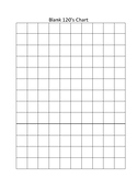 Blank Number Charts (20, 50, 100, 120)