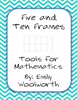 Blank Number Frames with a white background
