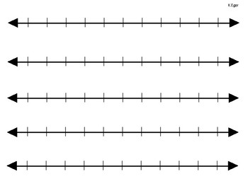 Invaluable image regarding number lines printable