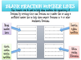 Blank Number Lines