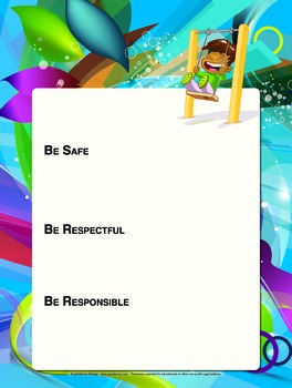 Blank PBIS Expectation Posters - 18x24