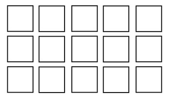 Blank PECS template