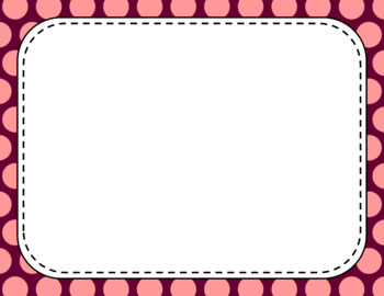 Blank Page or Poster Templates (11x8.5) - Autumn Blush