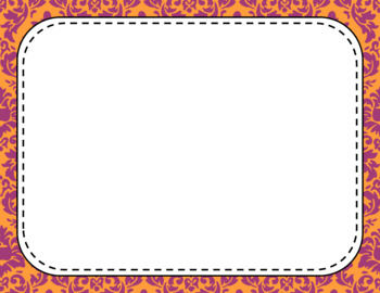 Blank Page or Poster Templates (11x8.5) - Autumn Sunset