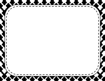 Blank Page or Poster Templates (11x8.5) - Basics: Clubs & White
