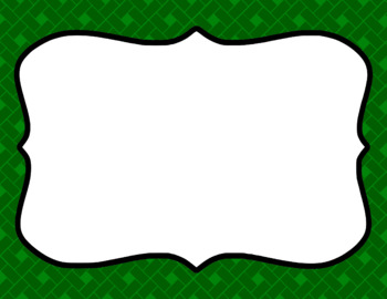 Blank Page or Poster Templates (11x8.5) - Basics: Rectangles