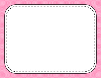 Blank Page or Poster Templates (11x8.5) - Basics: Squares