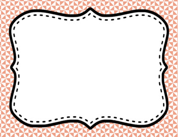 Blank Page or Poster Templates (11x8.5) - Basics: Triangles & White