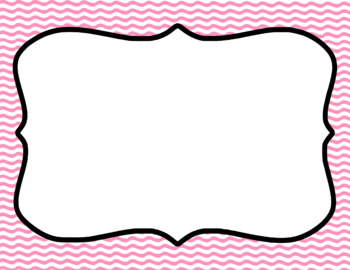 Blank Page or Poster Templates (11x8.5) - Basics: Waves & White