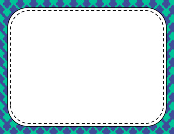 Blank Page or Poster Templates (11x8.5) - Beach Day