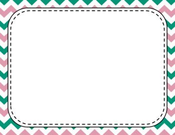 Blank Page or Poster Templates (11x8.5) - Candy Shop