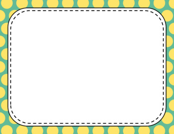 Blank Page or Poster Templates (11x8.5) - Carefree