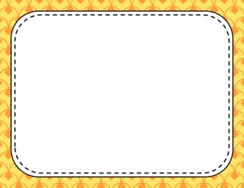 Blank Page or Poster Templates (11x8.5) - Citrus