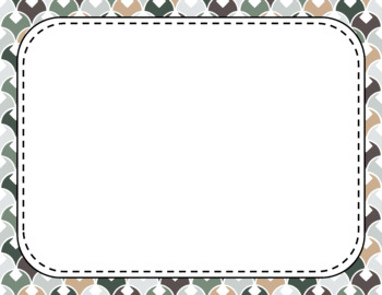 Blank Page or Poster Templates (11x8.5) - Cozy Cabin