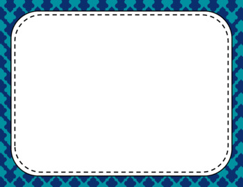 Blank Page or Poster Templates (11x8.5) - Day at the Lake
