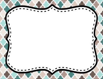 Blank Page or Poster Templates (11x8.5) - Driftwood