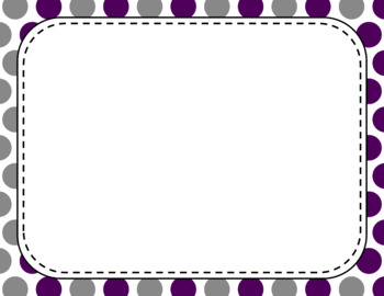 Blank Page or Poster Templates (11x8.5) - Elegant