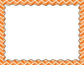 Blank Poster Templates (11x8.5) Essentials: Divided Chevron