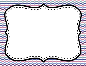 Blank Page or Poster Templates (11x8.5) - Fairy Tale