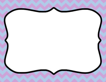 Blank Page or Poster Templates (11x8.5) - Frostbite