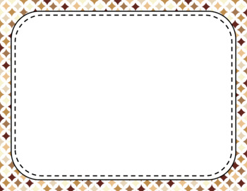 Blank Page or Poster Templates (11x8.5) - Java