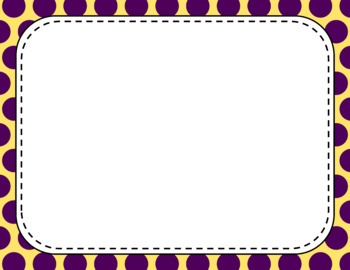 Blank Page or Poster Templates (11x8.5) - Pansy
