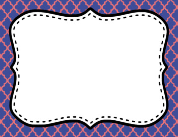 Blank Page or Poster Templates (11x8.5) - Princess