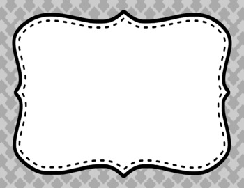 Blank Page or Poster Templates (11x8.5) - Basics: Clubs
