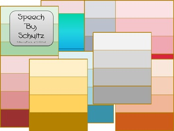 Blank Paint Chips- ClipArt