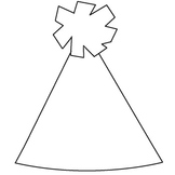 {Blank} Party Hat Printable [New Years]