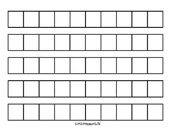 Blank Pattern Cards