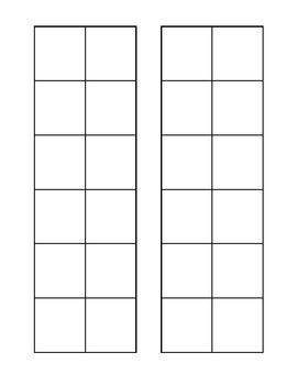 Blank Patterning Sheet 2