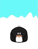 Blank Penguin Binder Cover