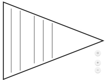 Blank Pennants with Lines