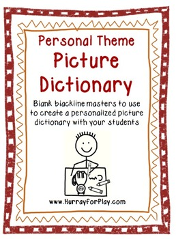 Blank Personal Theme Dictionary (English)