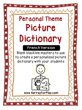 Blank Personal Theme Dictionary (French)