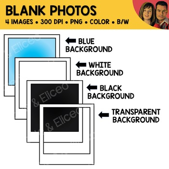 Blank Photo Clipart