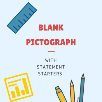 Blank Pictograph with Statement Starters