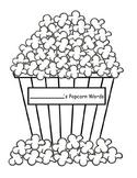 Blank Popcorn Words