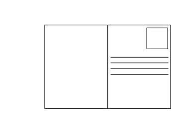 Blank Postcard Sample