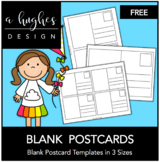 FREE Blank Postcards {A Hughes Design}
