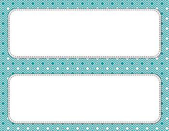 Blank Poster Templates (11x4.25) Essentials & White: Diamond