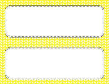 Blank Poster Templates - 11x4.25 Basics: Leaves & White (Inverted)